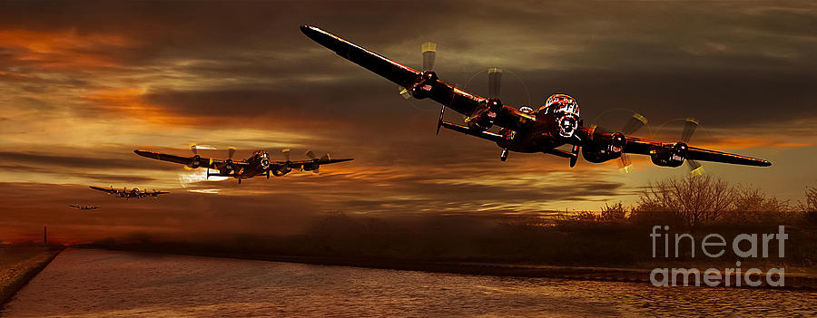 Coningsby Photograph - East Coast Training by Nigel Hatton
