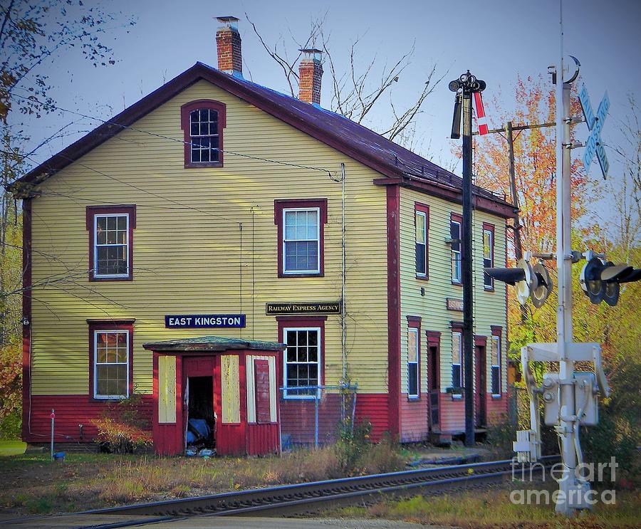 East Kingston Railroad Depot Photograph
