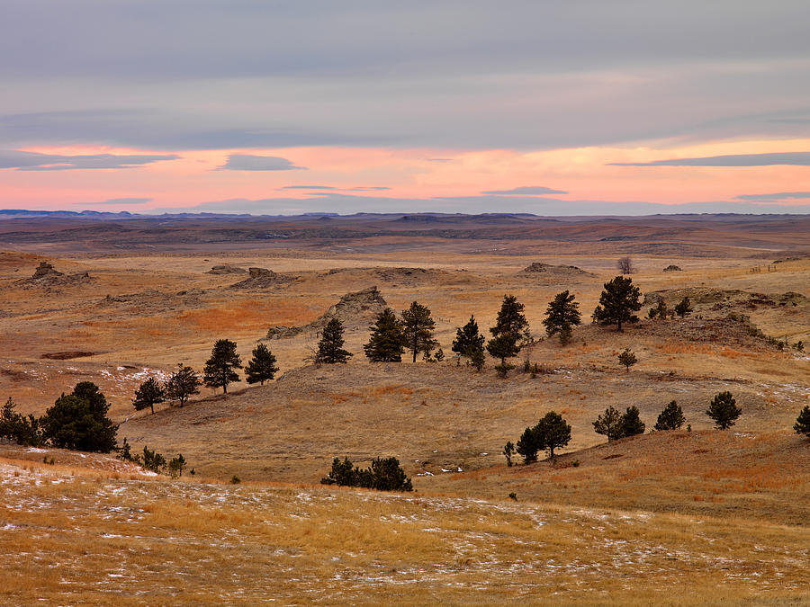 Beauty Photograph - East Montana Country by Leland D Howard