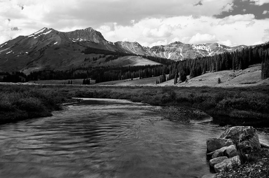 Rivers Photograph - East River in Black and white by Mike  Bennett
