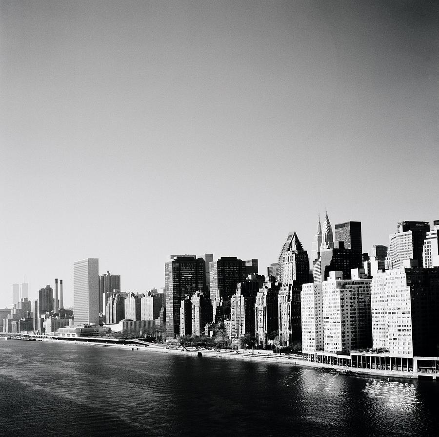 New York Photograph - East River New York by Shaun Higson