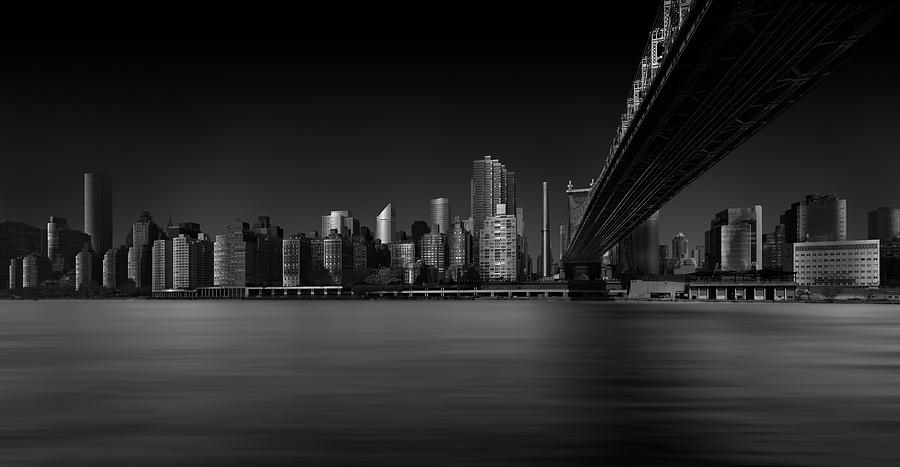 Nyc Photograph - East Side by Louis-philippe Provost