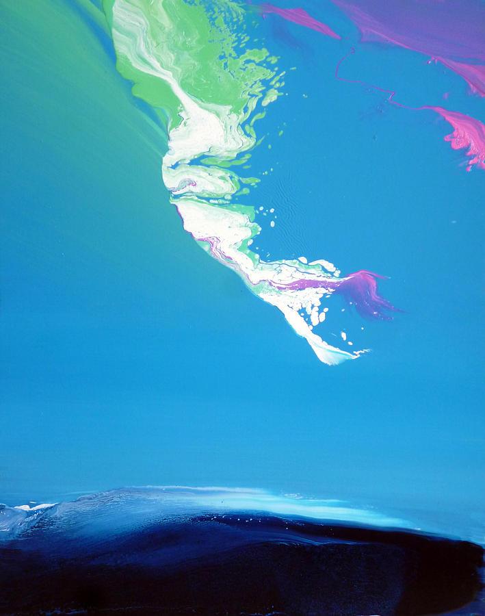 East Painting - East Wind I by Jacob Jugashvili