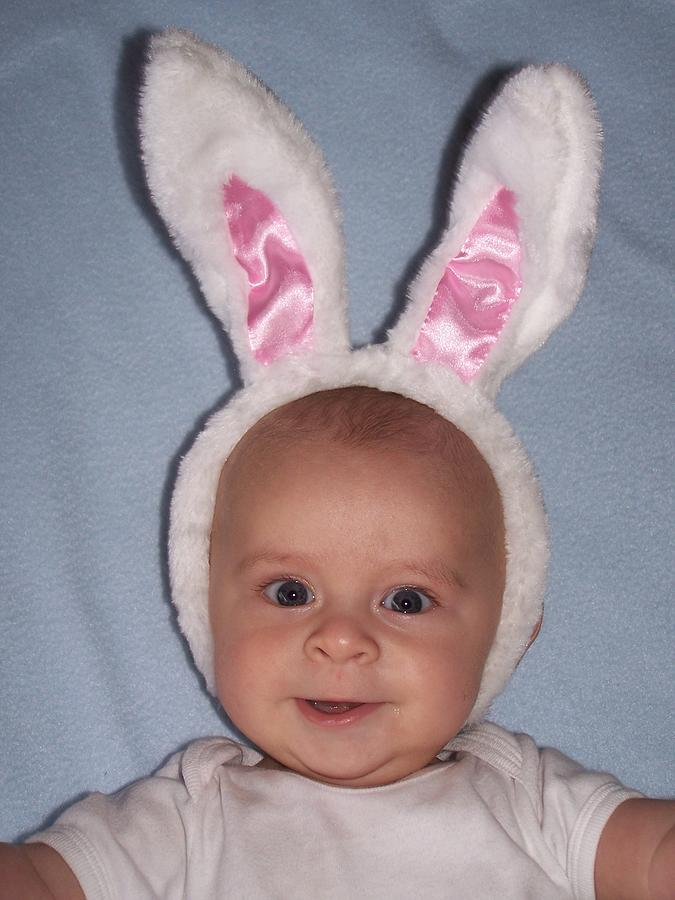 Easter Baby Photograph by Dianne Stopponi