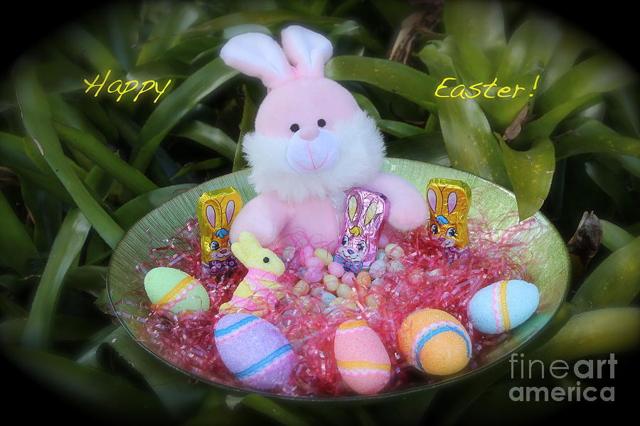 Easter Photograph - Easter Card by The Art of Alice Terrill