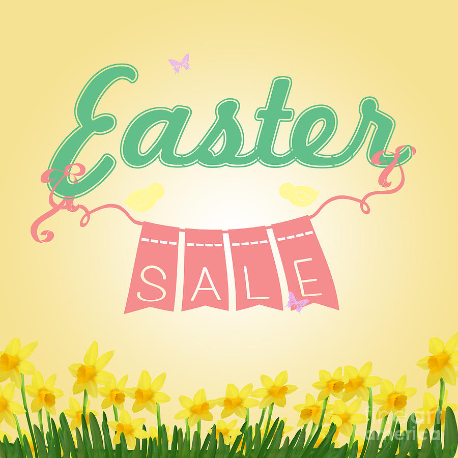 Easter Sale: Easter Sale Digital Art By Sophie McAulay