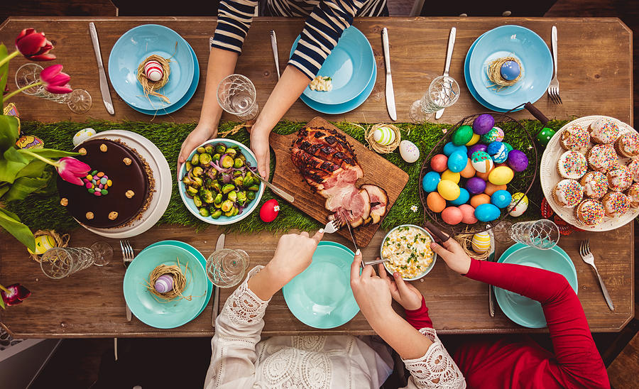 Easter Table Photograph by Kajakiki