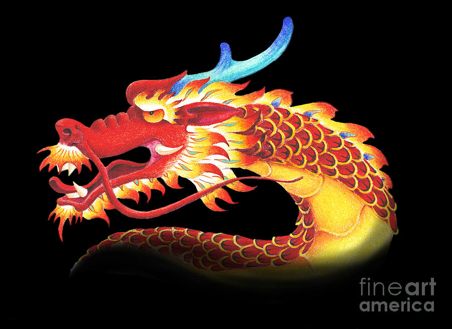 Dragon Digital Art - Eastern Dragon by Melissa A Benson