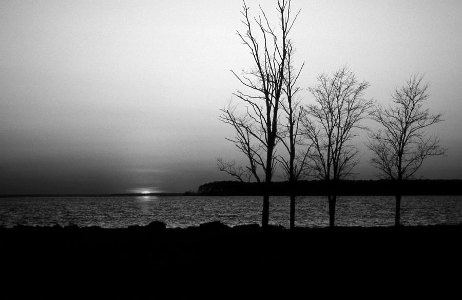 Md Photograph - Eastern Shore Sunset by Skip Willits