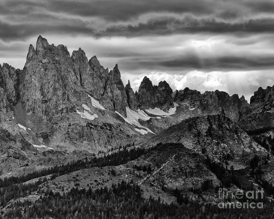 Sierras Photograph - Eastern Sierras Summer Storm 2 by Terry Garvin