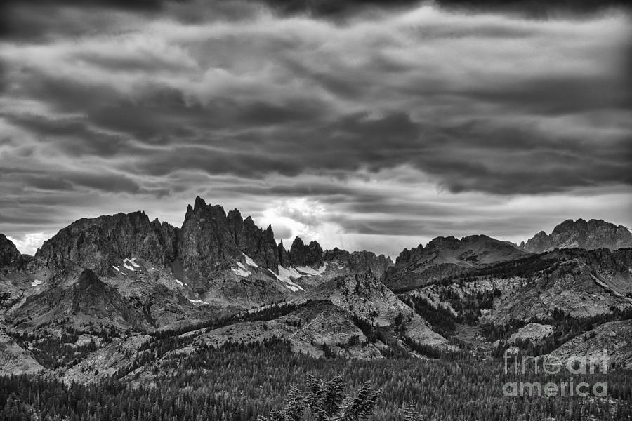 Sierras Photograph - Eastern Sierras Summer Storm by Terry Garvin