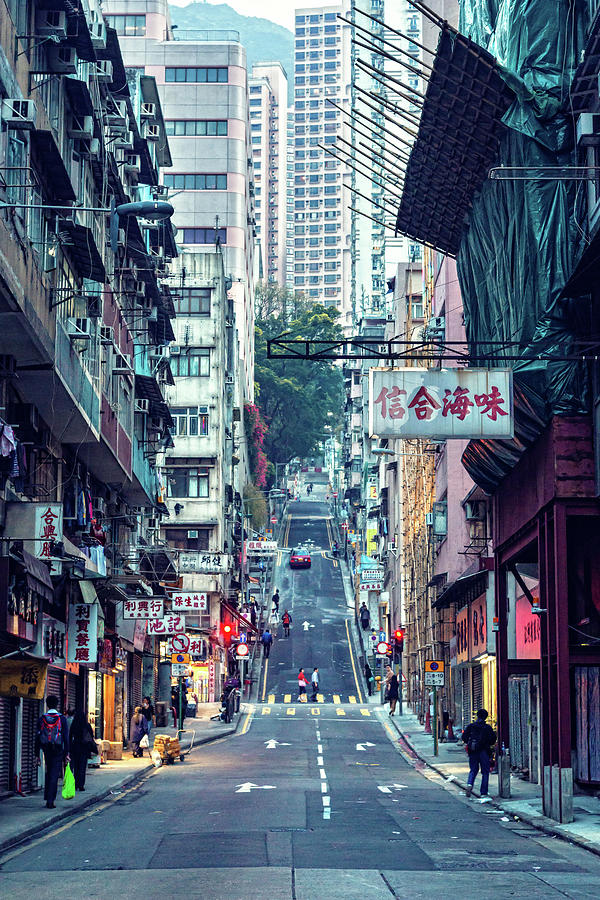 Eastern Street Photograph by Mendowong Photography