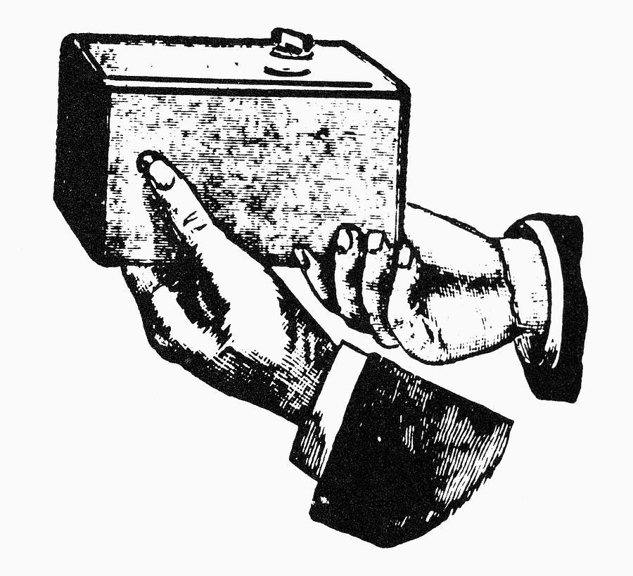 Eastman Kodak Camera, 1888 by Granger
