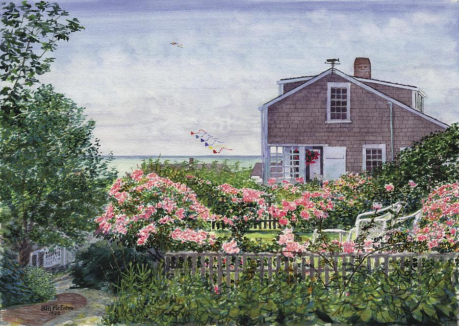 Nantucket Painting - Eastward Look by Bill McEntee