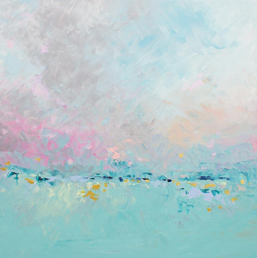 Abstract Painting - Easy Like Sunday Morning by Sally Kelly
