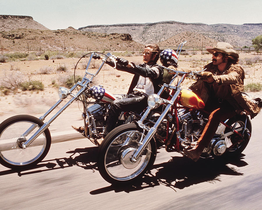 Easy Rider Photograph - Easy Rider  by Silver Screen