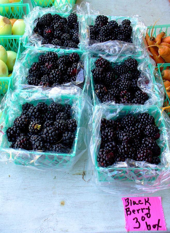 Farmers Market Photograph - Eat These Asap by Brenda Pressnall