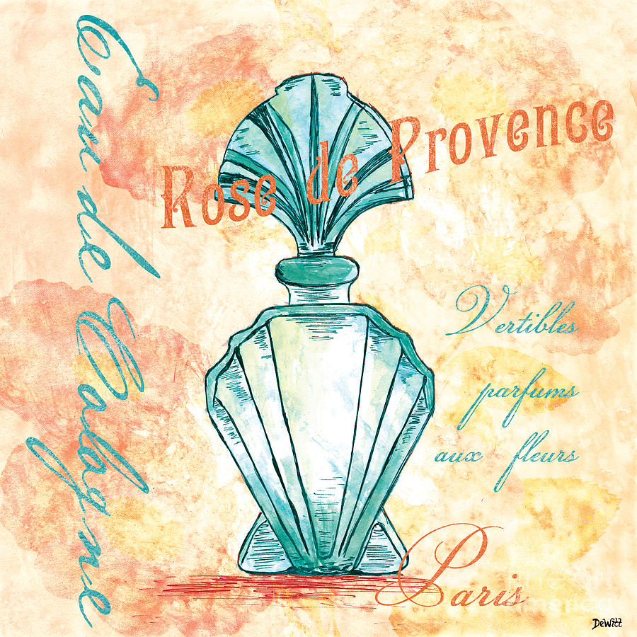 Perfume Painting - Eau De Cologne by Debbie DeWitt