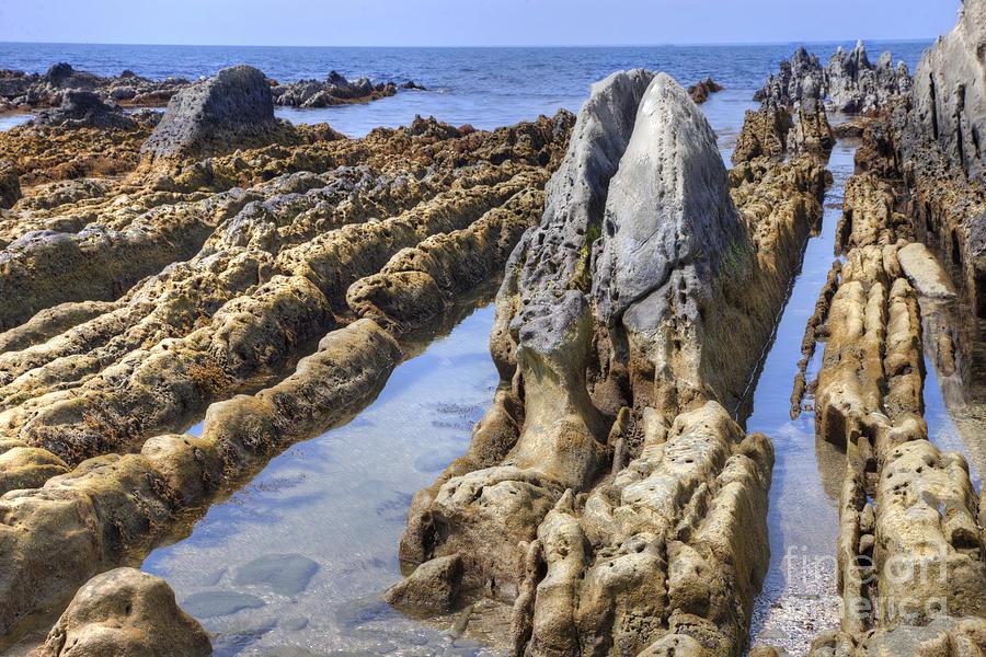 Nature Photograph - Ebb Tide-3 by Tad Kanazaki