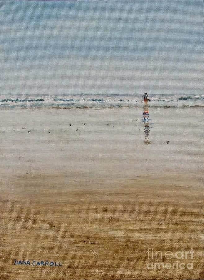 Ocean Painting - Ebb Tide by Dana Carroll