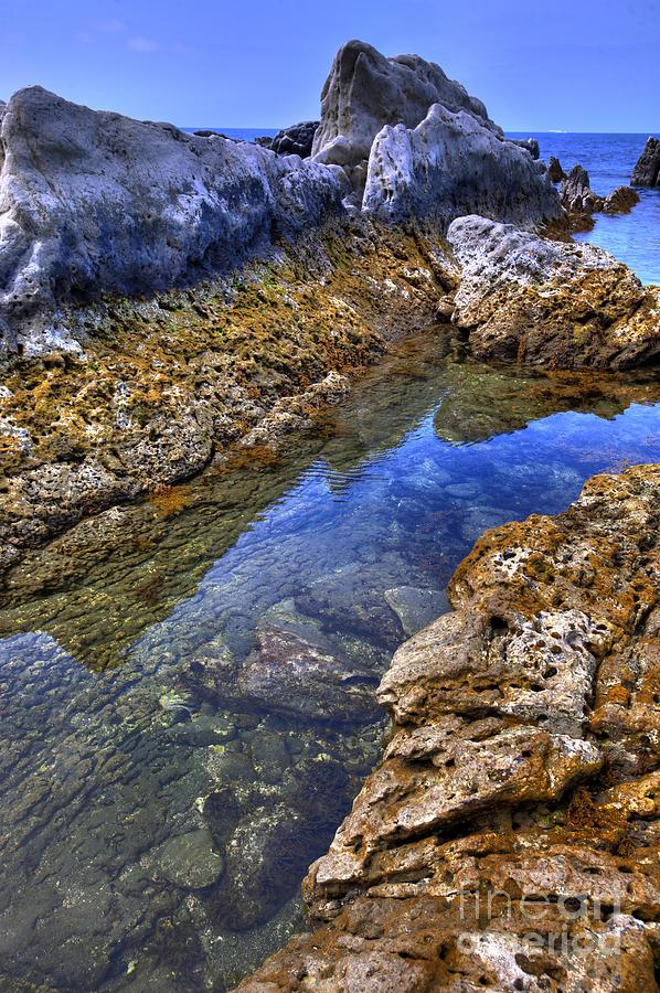 Nature Photograph - Ebb Tide by Tad Kanazaki