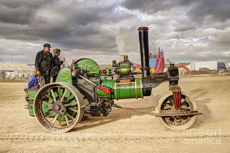 Steam Photograph - Ebenezer  by Rob Hawkins