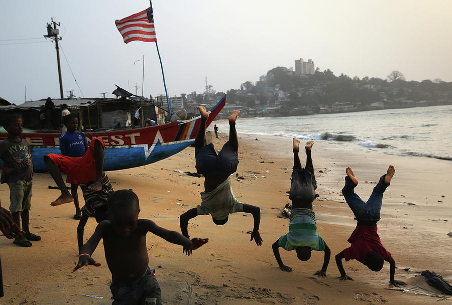 Ebola Epidemic Over, Liberias West Photograph by John Moore