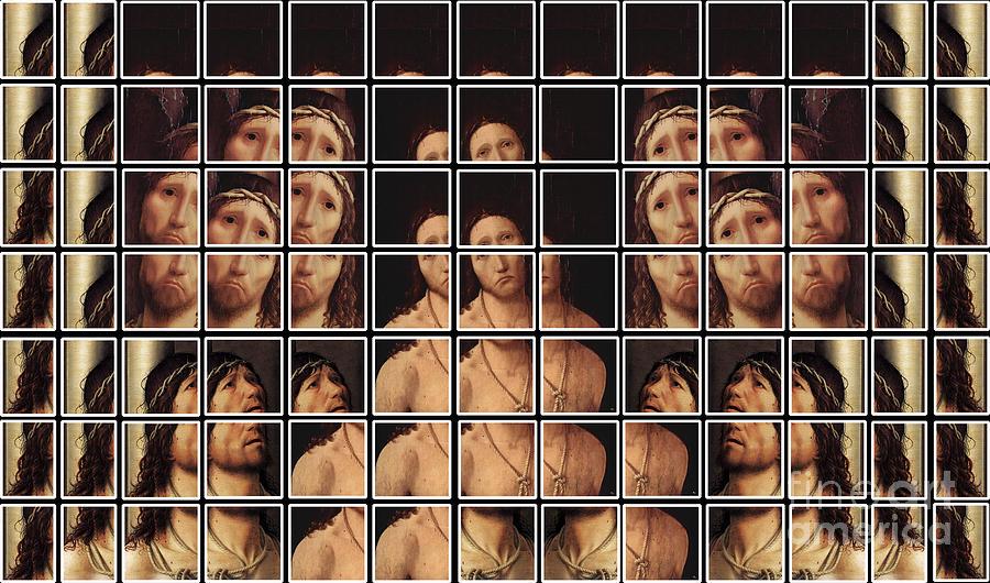 Ecce Homo Digital Art - Ecce Homo 2 by Elena Mussi