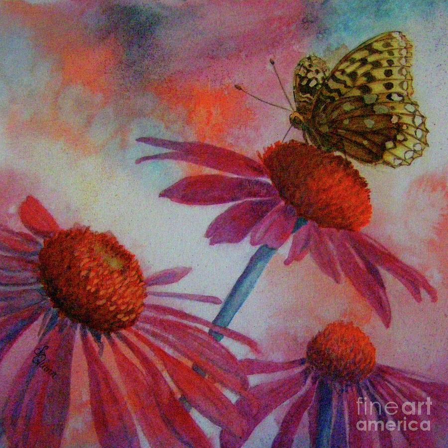 Echinacea fritillaria by Lynn Quinn