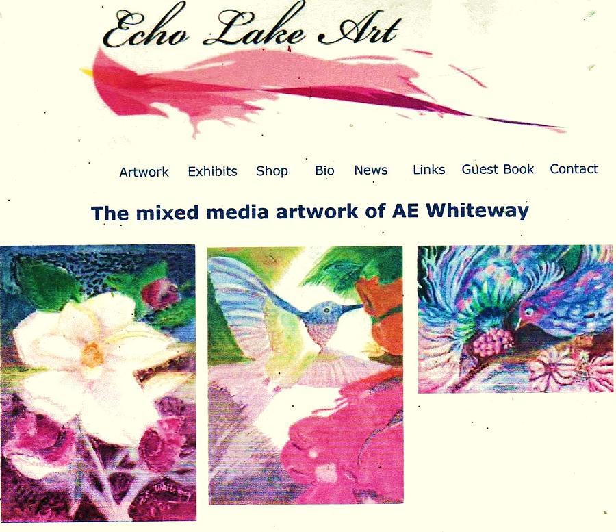 Paintings Painting - Echo Lake Art by Anne-Elizabeth Whiteway