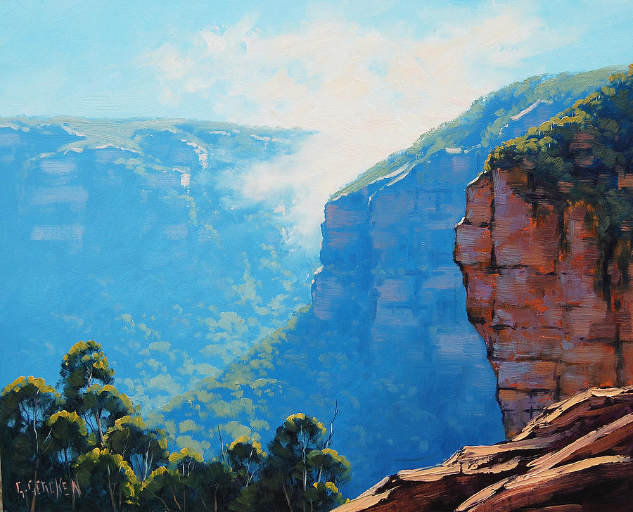 Echo Point Katoomba Painting