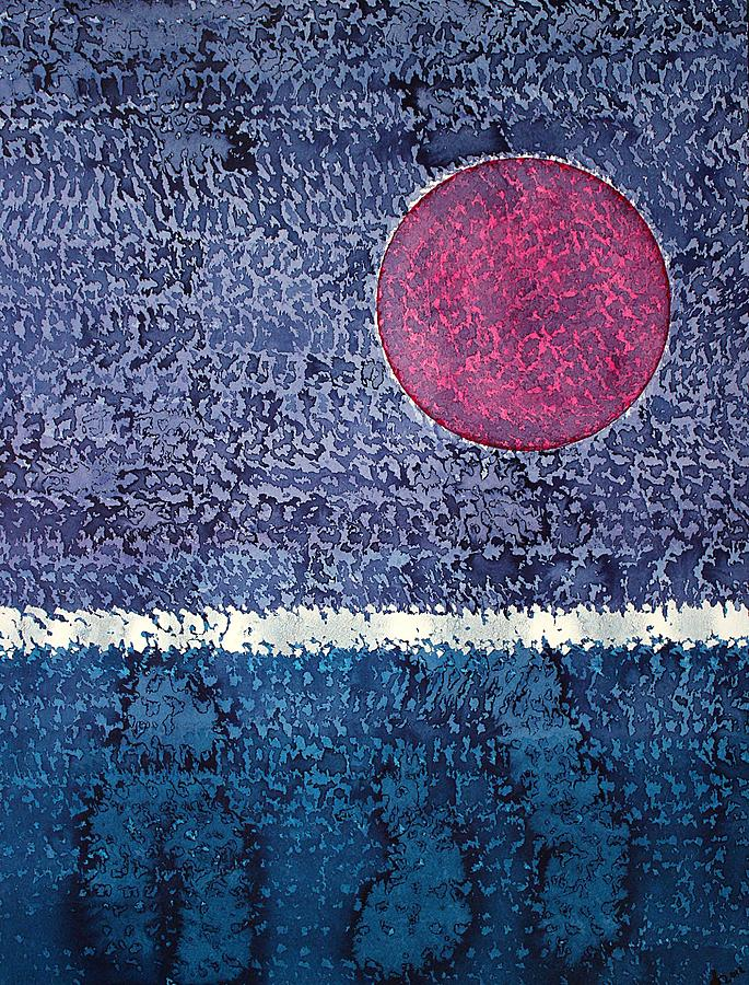 Eclipse Painting - Eclipse Original Painting by Sol Luckman