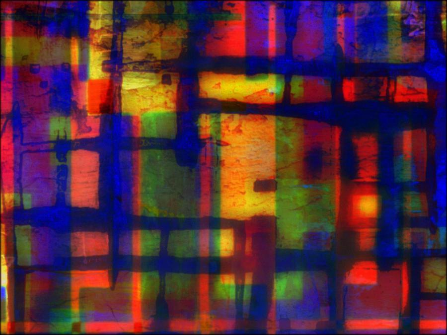 Abstract Mixed Media - Economy by Wendie Busig-Kohn