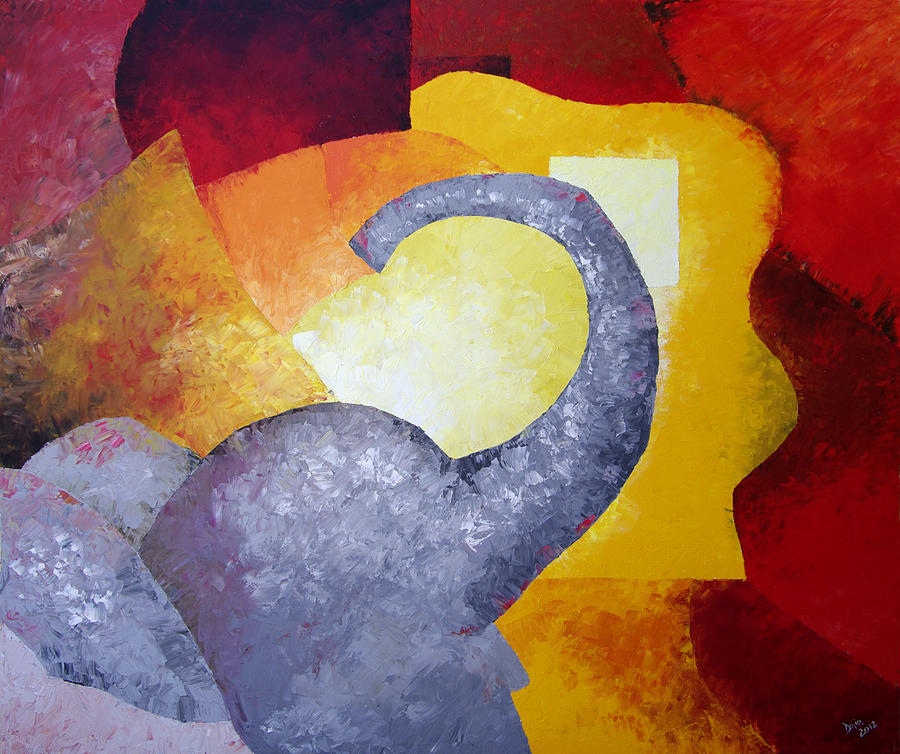 Abstract Painting - Ecstasy by Draia Coralia