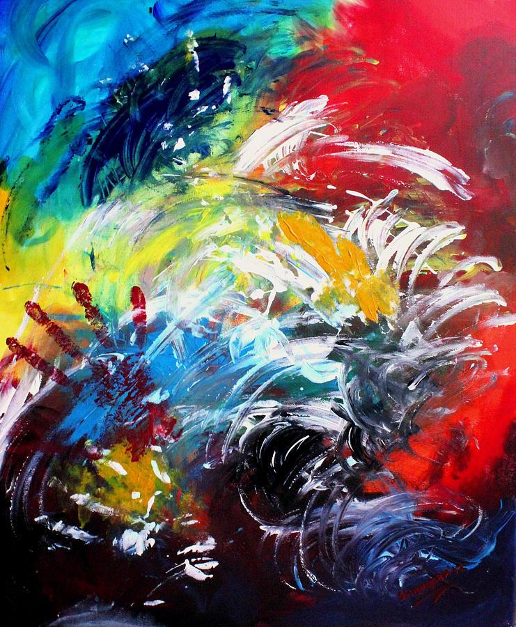 Kasana Painting - Ecstasy by Shakhenabat Kasana