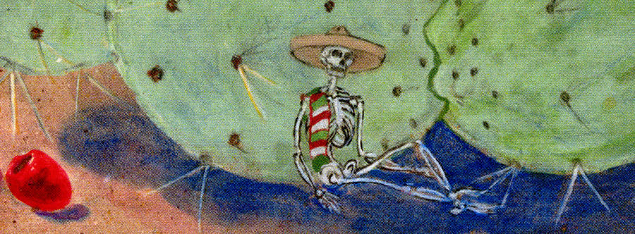 Ecumenical skeleton Painting by Illusions Maya
