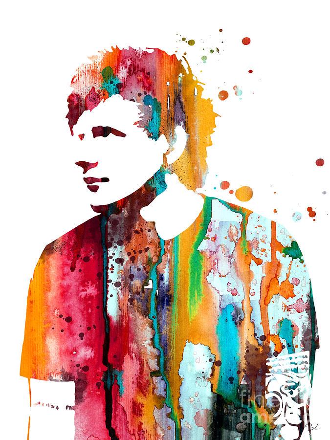 Ed Sheeran Luke And Slavi on Canvas Wall Art
