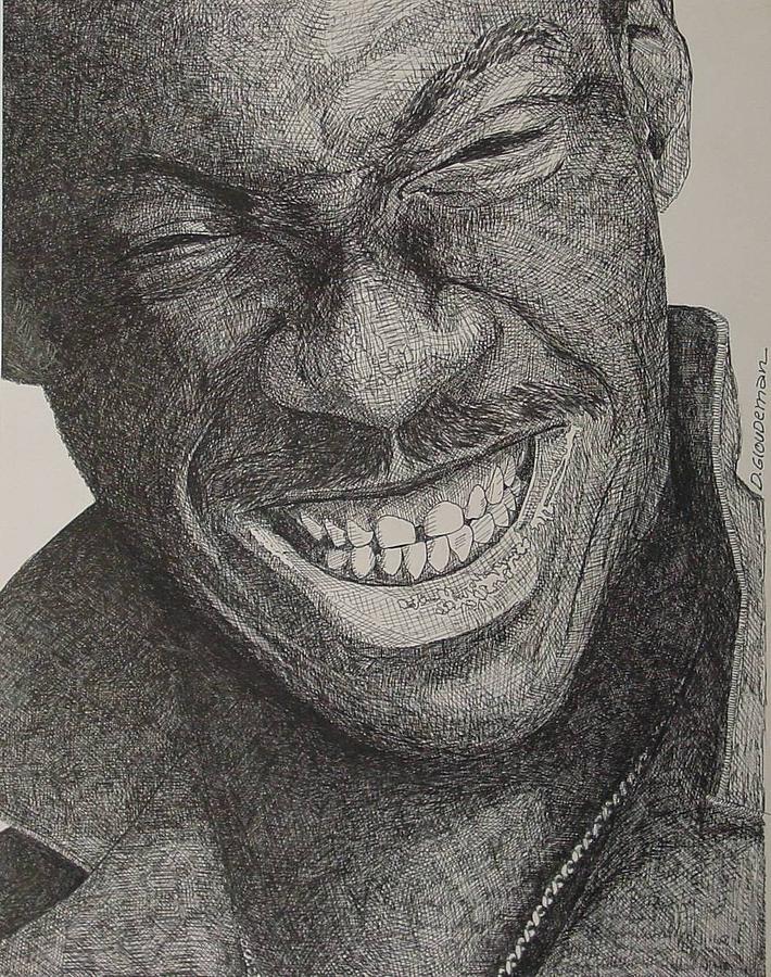 Portraiture Drawing - Eddie by Denis Gloudeman
