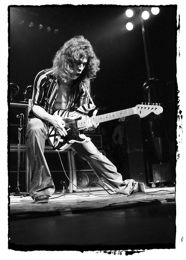 Eddie Van Halen Photograph - Eddie Van Halen by Sue Arber