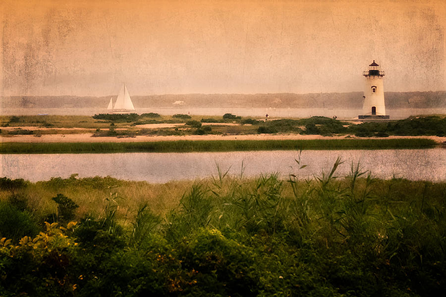 Cape Cod Photograph - Edgartown Lighthouse by Bill Wakeley