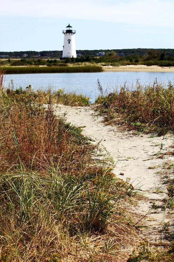 Edgartown Photograph - Edgartown Lighthouse by Carol Groenen