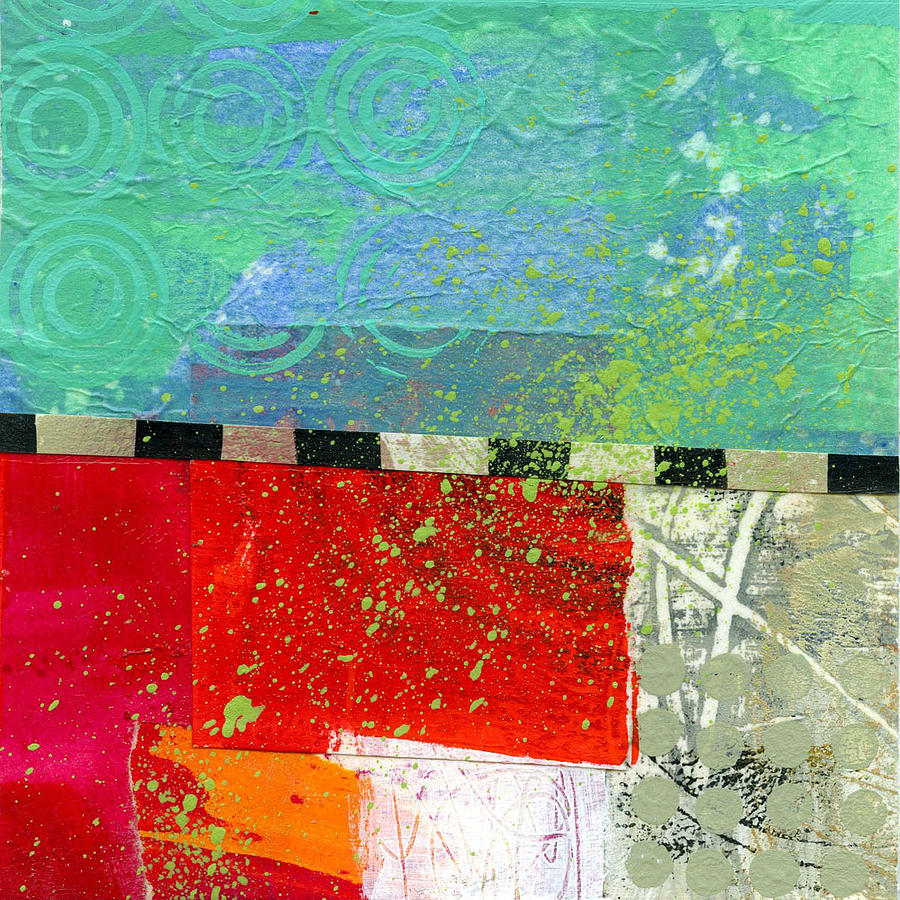 Abstract Painting - Edge 48 by Jane Davies