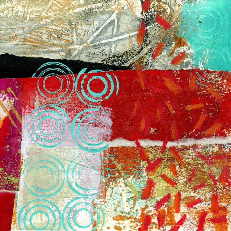 4x4 Painting - Edge 50 by Jane Davies
