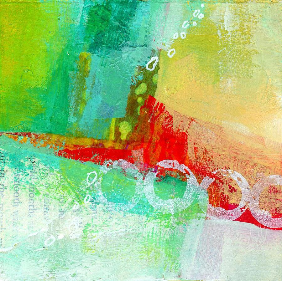 4x4 Painting - Edge 59 by Jane Davies