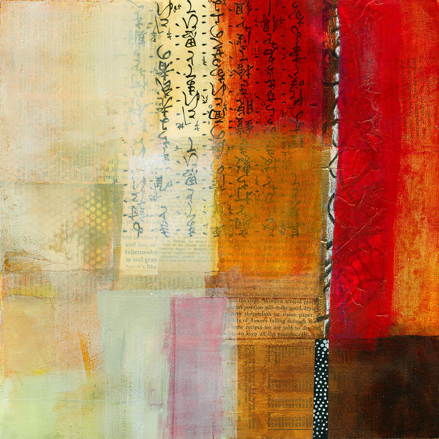 Acrylic Painting - Edge Location 8 by Jane Davies
