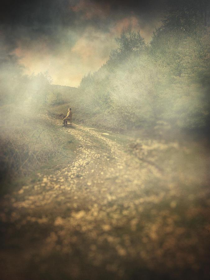 Surreal Photograph - Edge Of The World by Taylan Apukovska
