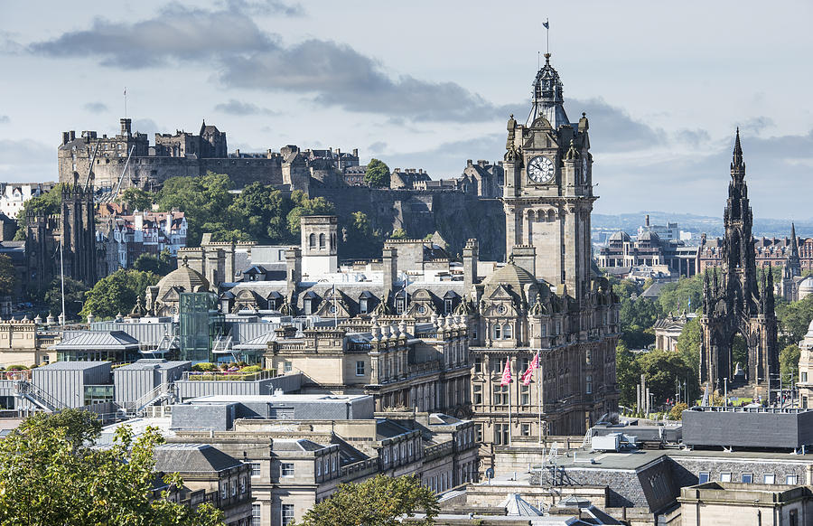 Edinburgh cityscape Photograph by John Lawson, Belhaven