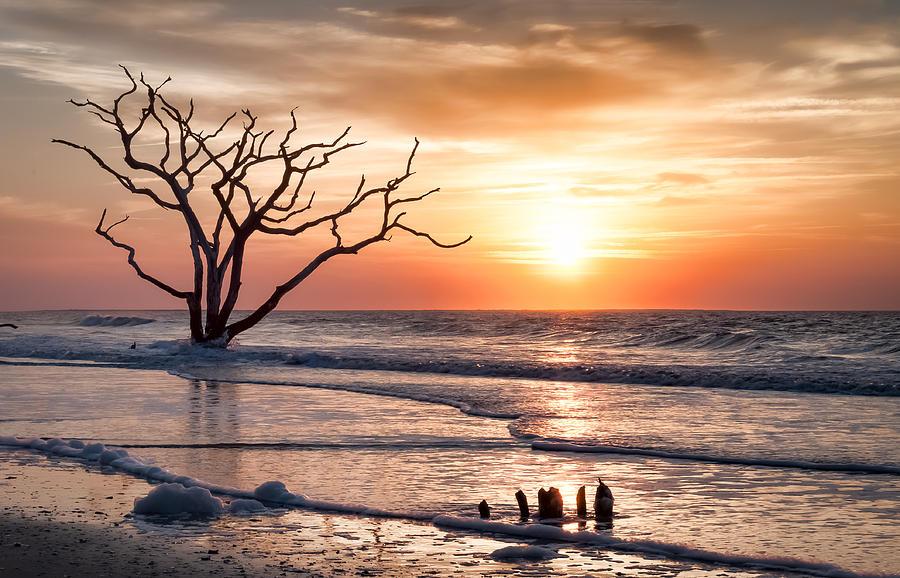 Edisto Beach Photograph - Edisto Sunrise by Curtis Cabana