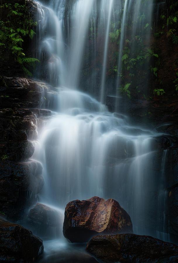 Waterfalls Photograph - Edith Falls by Yan Zhang
