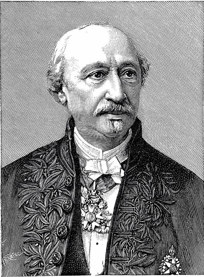 Alexandre Photograph - Edmond Becquerel by Universal History Archive/uig
